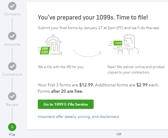 Easy 1099 E File With Quickbooks Online Nonprofit Accounting Academy