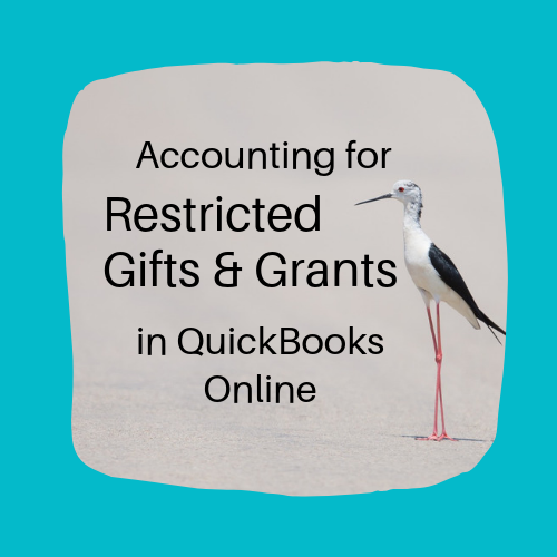 Actg for Restricted Gifts & Grants in QBO Logo 500x500 Blue